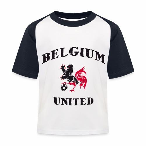 Belgium Unit - Kids' Baseball T-Shirt