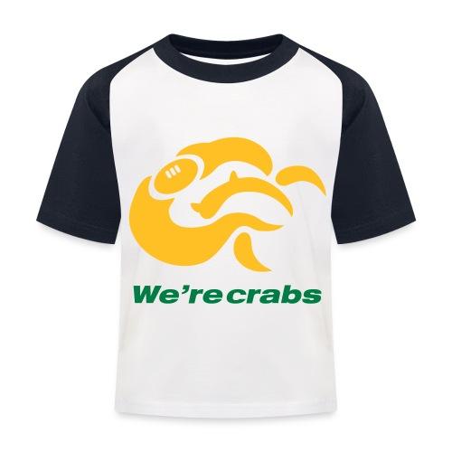 Crazycrab_Australia - Maglietta da baseball per bambini