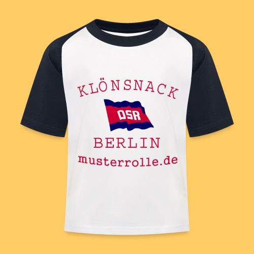 KiB-Logo-gif - Kinder Baseball T-Shirt