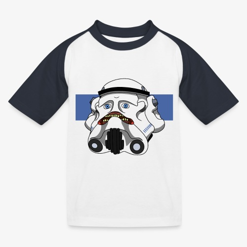 The Look of Concern - Kids' Baseball T-Shirt