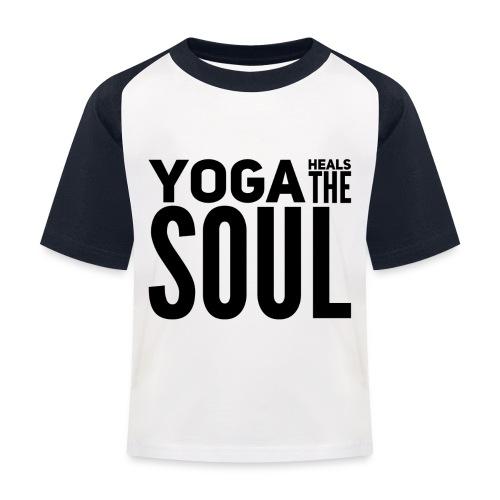 yogalover - Kinderen baseball T-shirt
