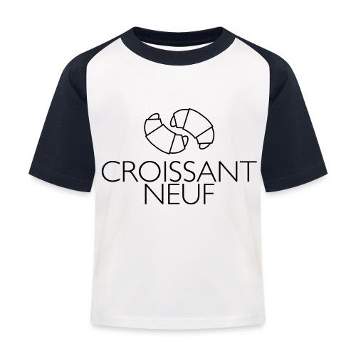 Croissaint Neuf - Kinderen baseball T-shirt