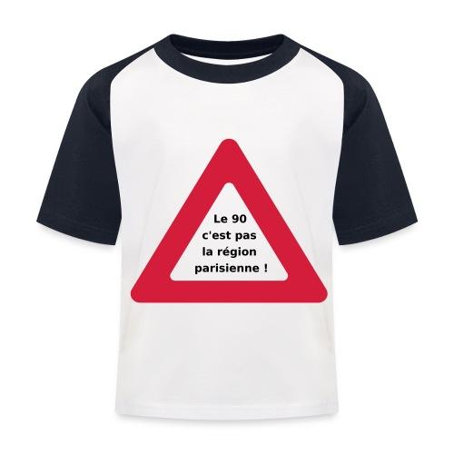 90_pas_region_parisienne - T-shirt baseball Enfant