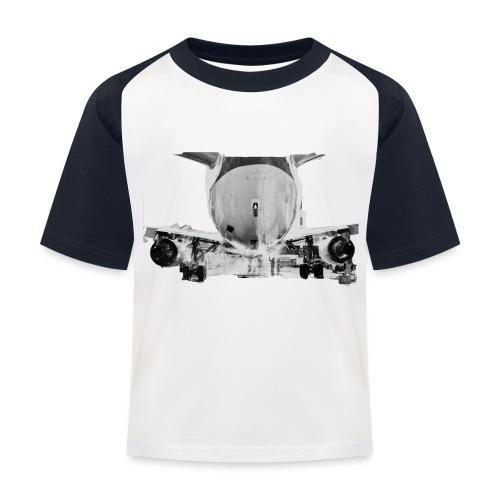 jet2 - Maglietta da baseball per bambini