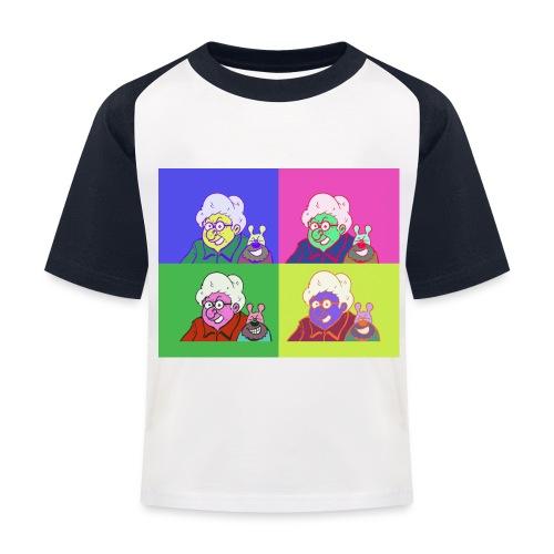 Polete facon warhol - T-shirt baseball Enfant