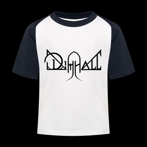 Dimhall Black - Kids' Baseball T-Shirt