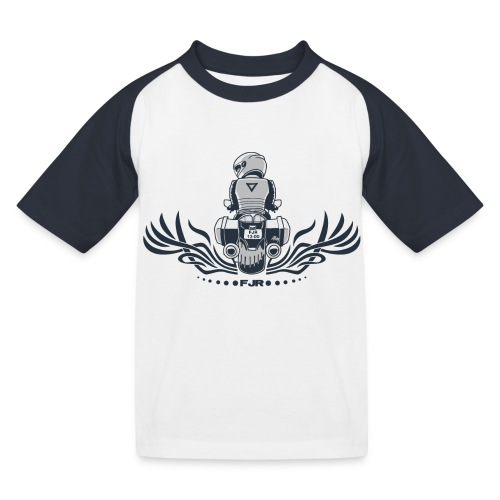 0852 fjr no topcase - Kinderen baseball T-shirt