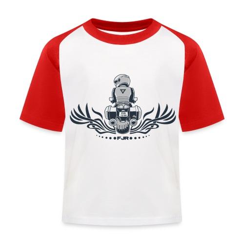 0852 fjr no topcase - Kinderen baseball T-shirt