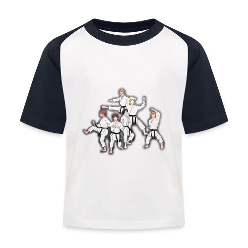 Karate - Kids' Baseball T-Shirt