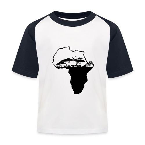 Afrique Savane - T-shirt baseball Enfant