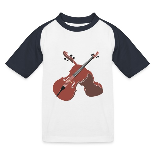 Cello - Kids' Baseball T-Shirt