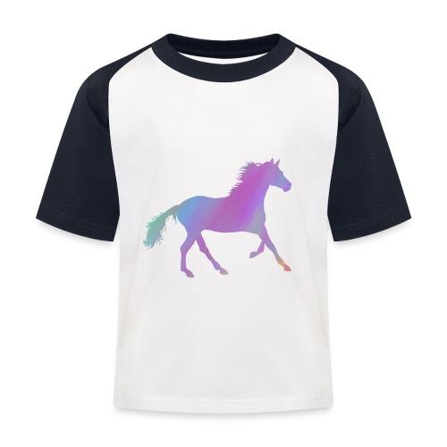 Horse - Kids' Baseball T-Shirt