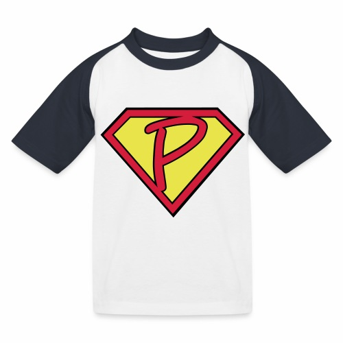 superp 2 - Kinder Baseball T-Shirt