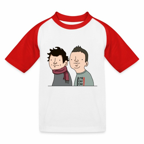 Laink et Terracid - T-shirt baseball Enfant