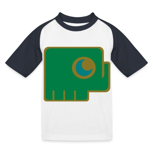 Elefant - Kids' Baseball T-Shirt