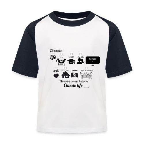 trainspotting - Camiseta béisbol niño
