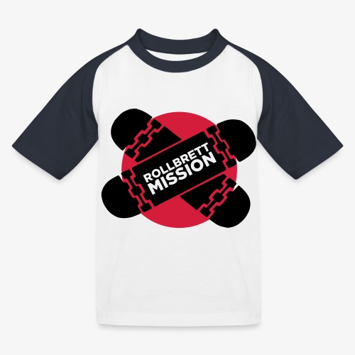 Mission Nippon - Kinder Baseball T-Shirt