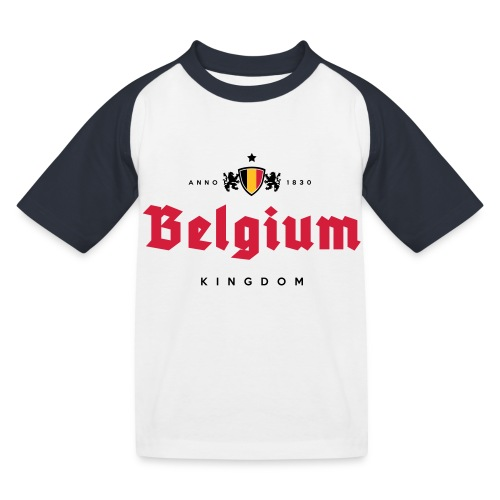 Bierre Belgique - Belgium - Belgie - T-shirt baseball Enfant