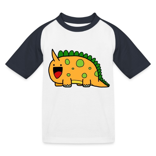 cute-dinosaur-clipart-panda-free-clipart-images-Yj - Maglietta da baseball per bambini