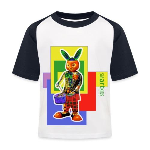 smARTkids - Slammin' Rabbit - Kids' Baseball T-Shirt