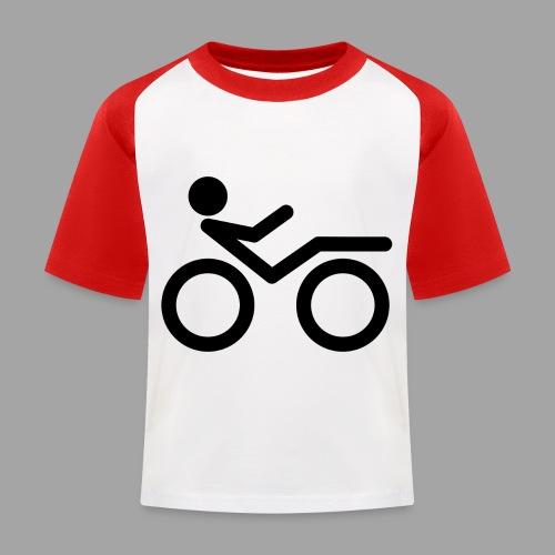 Recumbent bike black 2 - Lasten pesäpallo  -t-paita