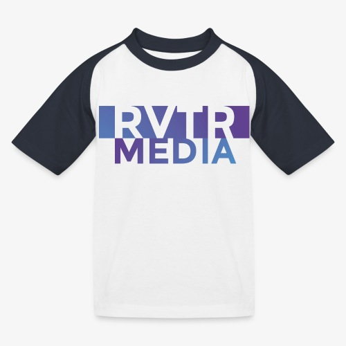 RVTR media NEW Design - Kinder Baseball T-Shirt