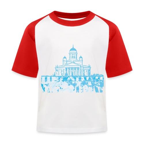 Helsinki Cathedral - Kids' Baseball T-Shirt