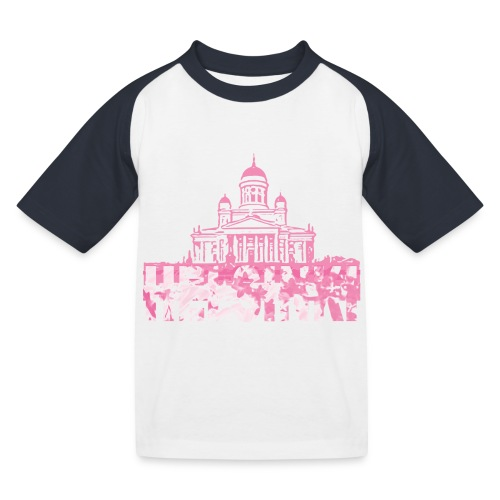 Helsinki Cathedral - Kids' Baseball T-Shirt