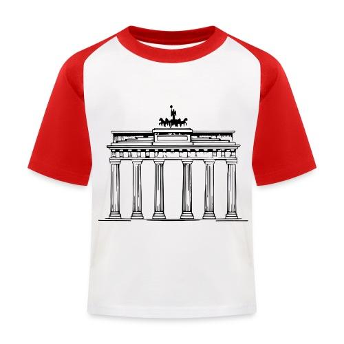 Brandenburger Tor Berlin Victoria Streitwagen - Kinder Baseball T-Shirt
