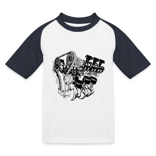 Motor - Kinder Baseball T-Shirt