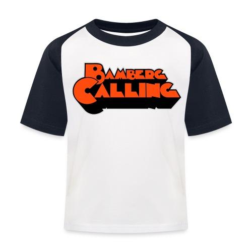 Bamberg Calling - Kinder Baseball T-Shirt
