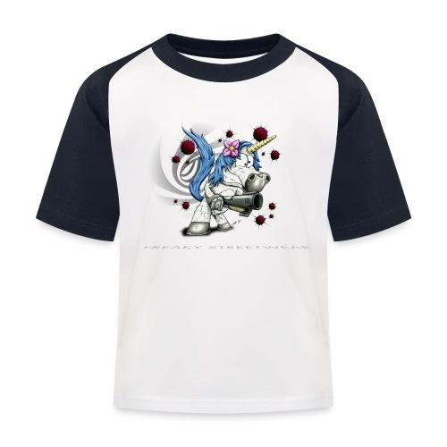 Don't mess with the unicorn - Kinder Baseball T-Shirt