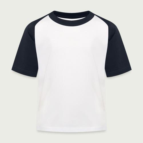 RuokangasGuitars white - Kids' Baseball T-Shirt