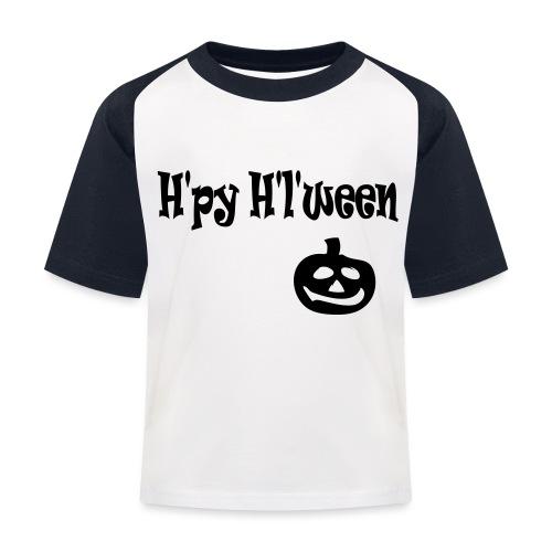 Happy Halloween - Kinder Baseball T-Shirt