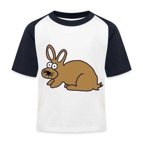 Hase - Kinder Baseball T-Shirt