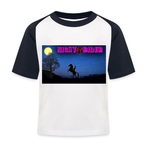nightrider merch - Baseball T-shirt til børn