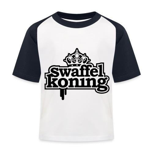 SwaffelKoning - Kinderen baseball T-shirt