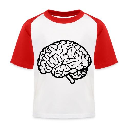cerveau - T-shirt baseball Enfant