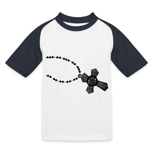 kruis 2 png - Kinderen baseball T-shirt