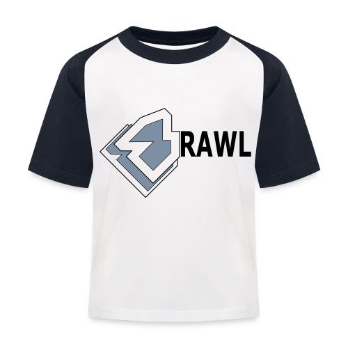 PANDA ONLY LOGO - Kinderen baseball T-shirt