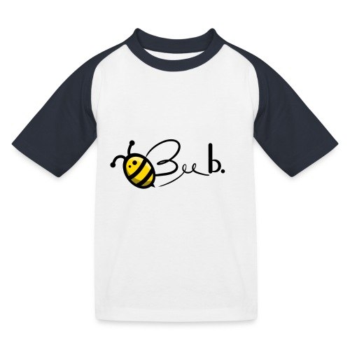 Bee b. Logo - Kids' Baseball T-Shirt