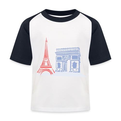 Paris - T-shirt baseball Enfant