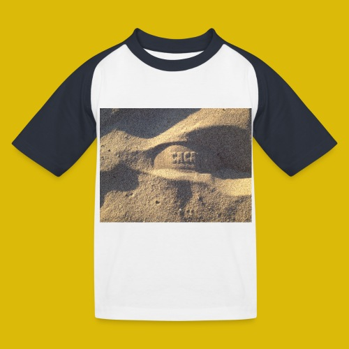 Caca - T-shirt baseball Enfant