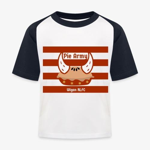 Pie Army - Kids' Baseball T-Shirt