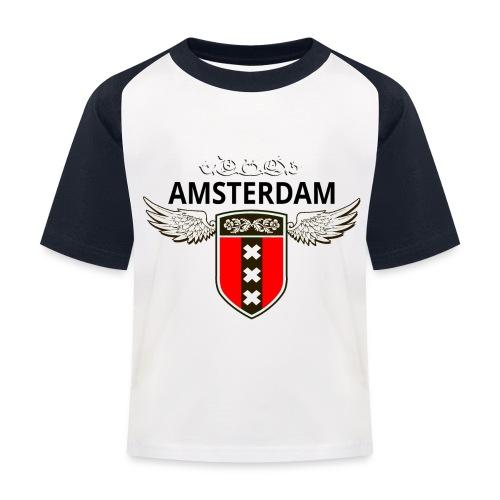 Amsterdam Netherlands - Kinder Baseball T-Shirt