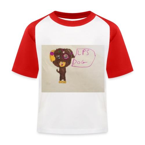 Little pets shop dog - Kids' Baseball T-Shirt