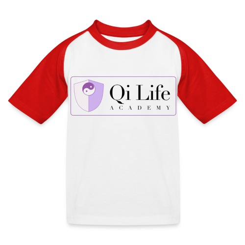Qi Life Academy Promo Gear - Kids' Baseball T-Shirt