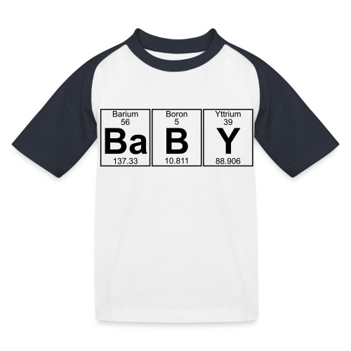 Ba-B-Y (baby) - Full - Kids' Baseball T-Shirt