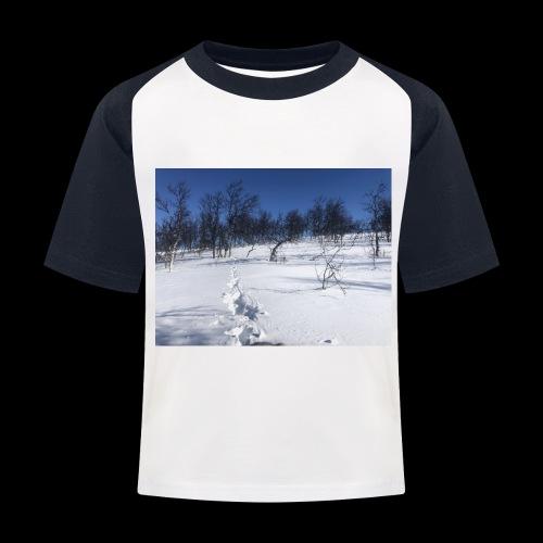 Fin natur - Baseball-T-skjorte for barn