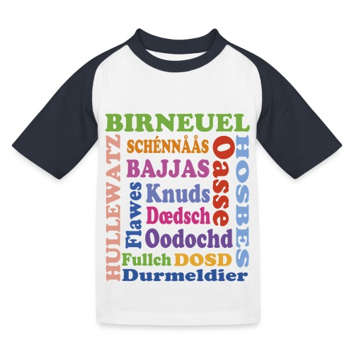 schimpf - Kinder Baseball T-Shirt